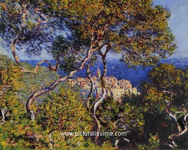 Reproduction Tableaux Copie Tableau de Maître disponible Monet Bordighera