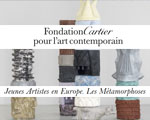 Expositions Paris Fondation Cartier Jeunes Artistes en Europe