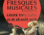 Expositions France Fontainebleau Fresques musicales