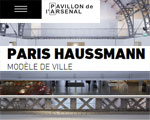 Expositions Paris Pavillon de L'Arsenal Paris Haussmann