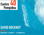 Exposition Paris Musée Pompidou David Hockney