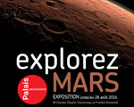 Expo Paris Palais Explorez Mars