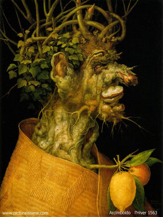 Arcimboldo l'Hiver 1563