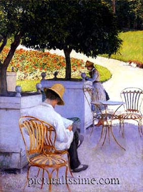 Gustave Caillebotte les orangers