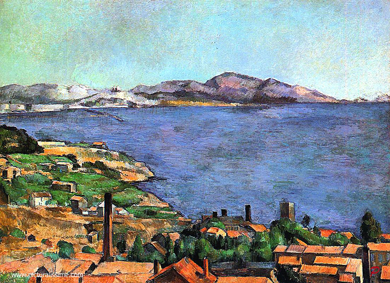 Paul Cézanne Le Golfe de Marseille vu de l'Estaque Metropolitan