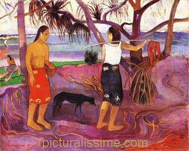 Gauguin Oviri Gauguin I Raro te Ovir...