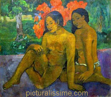 Gauguin Et l'or de leur corps