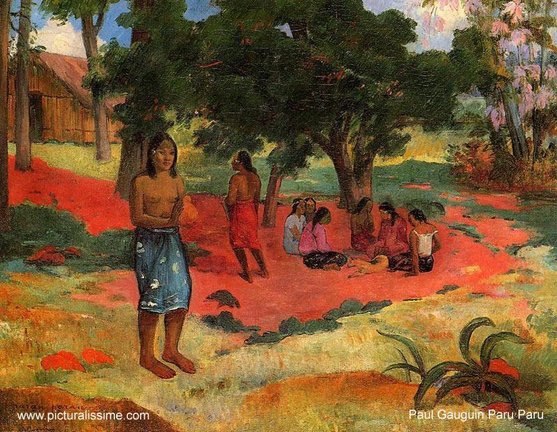 Paul gauguin paru paru - Tableau de maitre reproduction ...