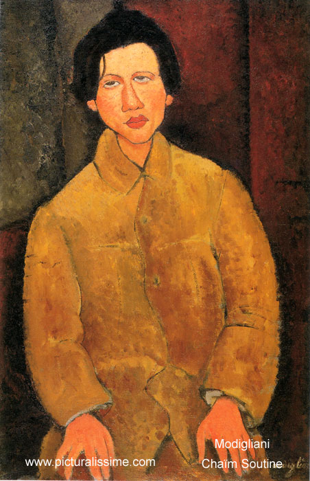 Modigliani cha m soutine - Tableau de maitre reproduction ...