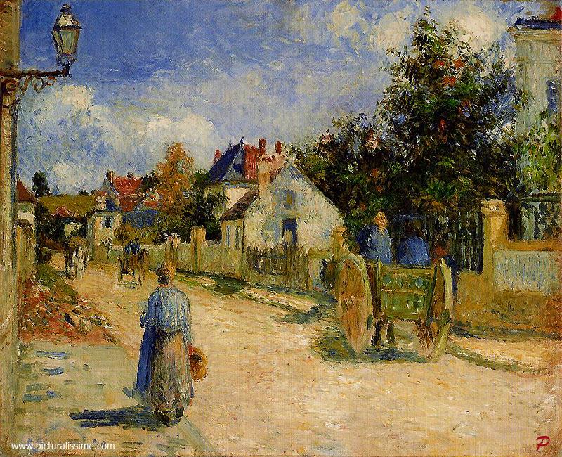 Pissarro rue pontoise for Piscine rue de pontoise