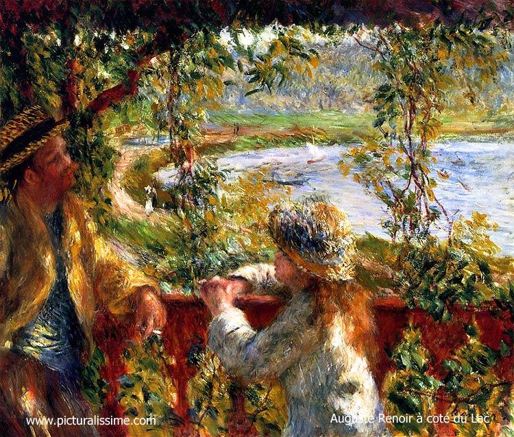 Auguste renoir cot du lac for Auguste chabaud cote
