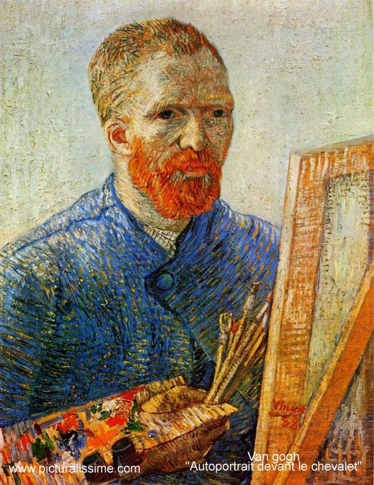 Autoportrait van gogh - Vincent van gogh autoportrait a l oreille coupee ...