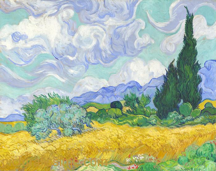 La peinture Van_gogh_bles_jaunes_l