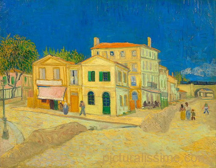 Van Gogh La Maison Jaune