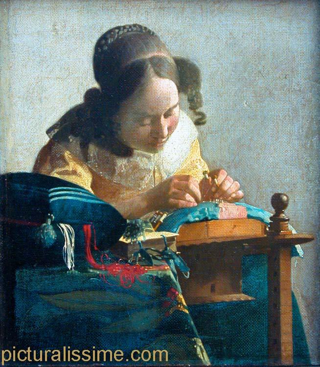Jan Vermeer la Dentellière